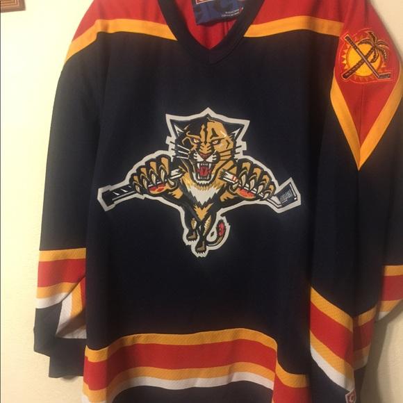 330e73948 CCM Other - Vintage Florida Panthers NHL Hockey Jersey